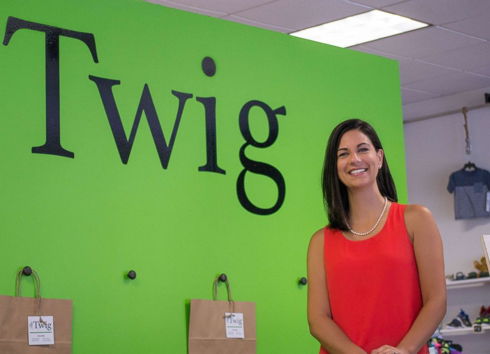 PHOTO: Nicole Britton, development director, is The Twigs only fulltime employee.