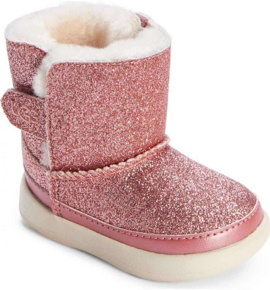 PHOTO: UGG- Keelan Glitter Genuine Shearling Boot