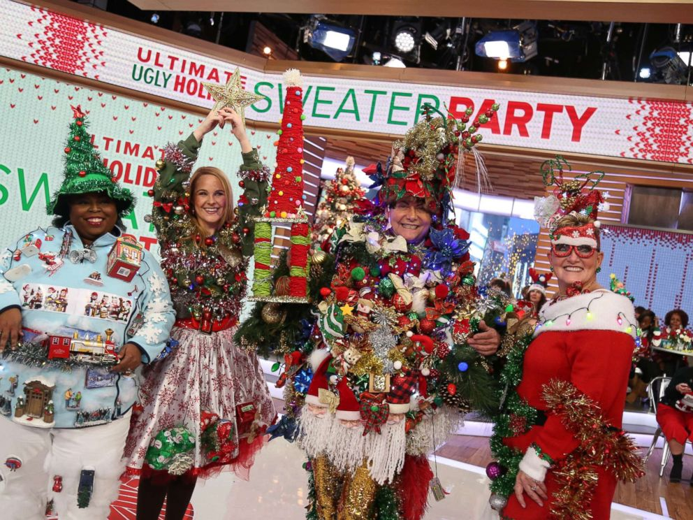 PHOTO: Steve Kemble, 58, of Dallas, took home the grand prize for - GMA' Ugly Holiday Sweater Challenge: Who Wore It Best? - ABC News