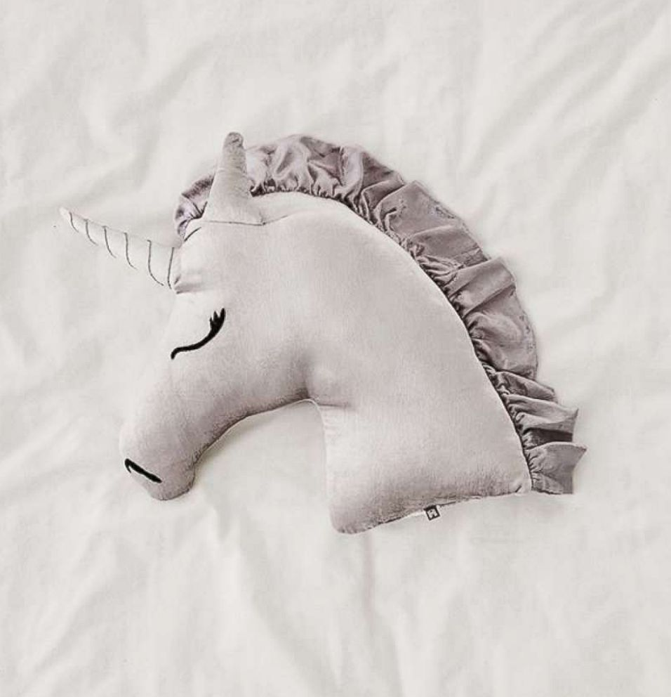 PHOTO: Velvet Unicorn Throw Pillow