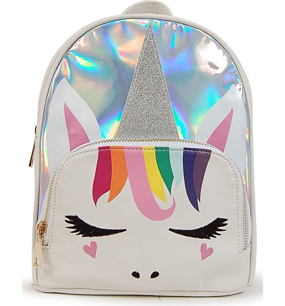 PHOTO: Silver Unicorn Backpack