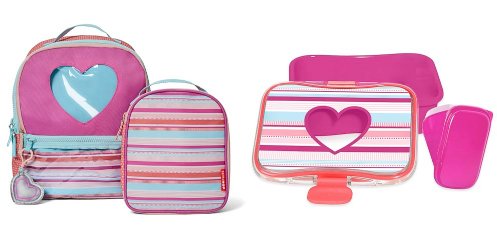 PHOTO: Surprise your little Valentine with themed gear for school on February 14.