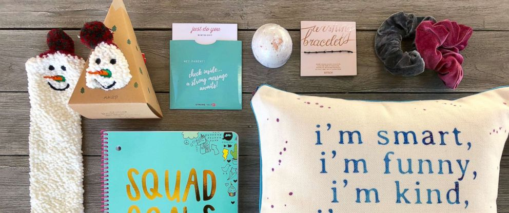 PHOTO: STRONG Self(ie) subscription boxes are for tween and teen girls.