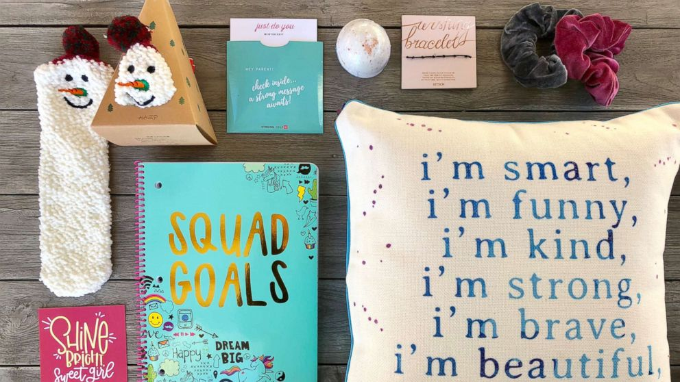 STRONG Self(ie) subscription boxes are for tween and teen girls.