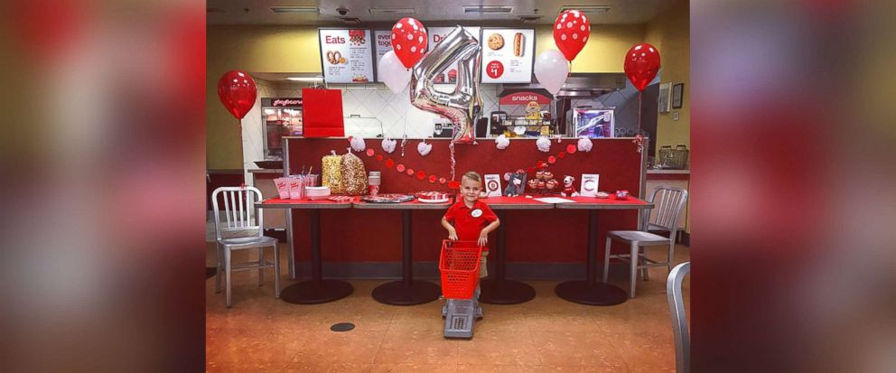 4yearold with joint condition gets dream Target birthday party