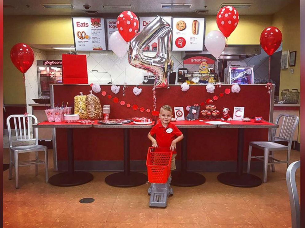 4 Year Old With Joint Condition Gets Dream Target Birthday Party