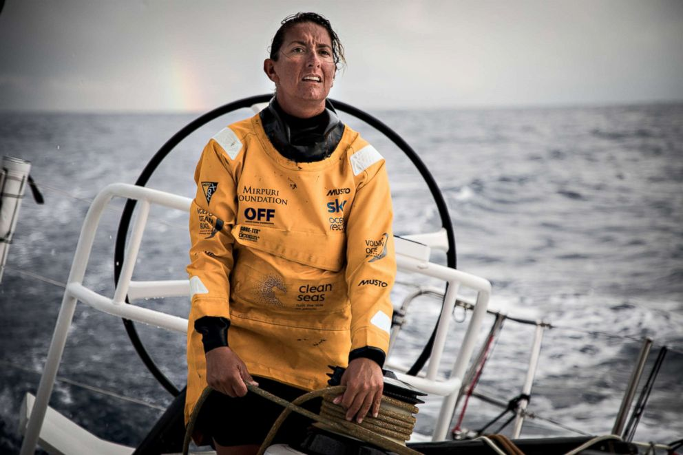 Watershed Moment For Women Sailors In Grueling 45 000 Mile Volvo