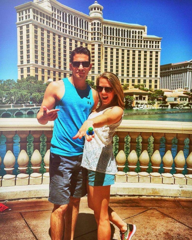 PHOTO: David Grzybowski and Jodi Gilbert, both 26, plan to wed in Philadelphia in June 2018.