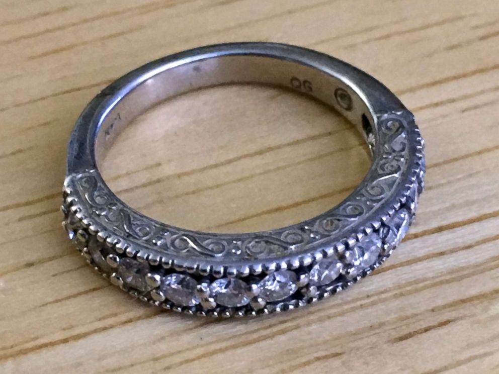 PHOTO: An Ohio plumber made a womans dreams come true when he discovered her long-lost wedding band.