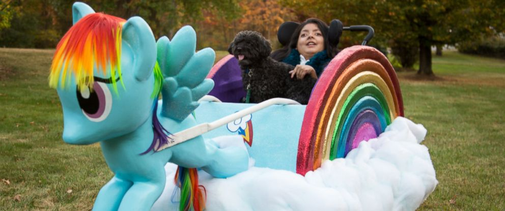 """PHOTO: Dalia Fein, 11, of Framingham, Mass., is obsessed with """"My Little Pony,"""" her mom said."""