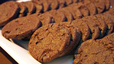 PHOTO:Cookiebar's world peace cookies are shown.