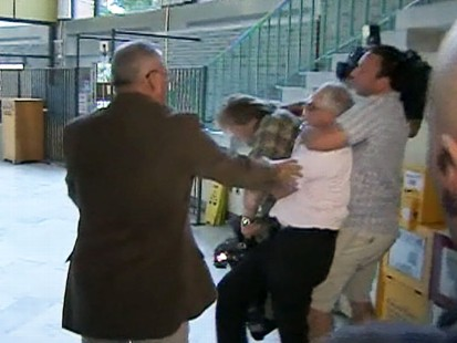 Video: Courthouse chaos breaks out after sentencing of Bonnie Sweeten.