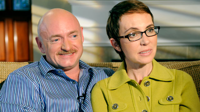 """PHOTO: Congresswoman Gabby Giffords and her husband Mark Kelly share their story with ABC's Diane Sawyer. Special edition of """"20/20"""" airs Monday, November 14 at 10:00 PM/ET."""