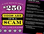 PHOTO: USPS and AARP has sent out a mailer to 25 million Americans telling them how to protect themselves from foreign lottery scams.