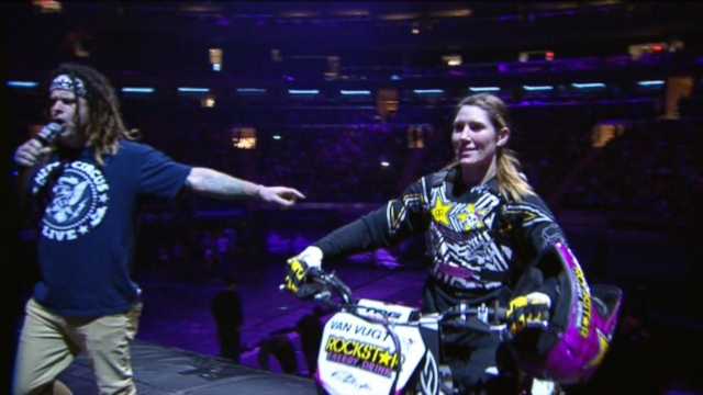 Female Motocross Daredevil Breaks Records -- And Barriers