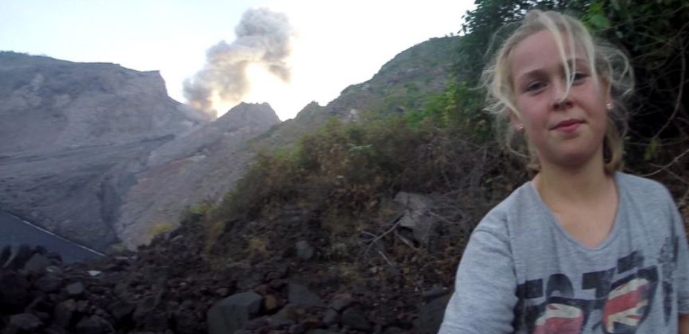 VIDEO: This 11-Year-Old Volcano Hunter Has No Fear