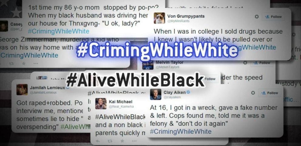 #CrimingWhileWhite, #AliveWhileBlack Hashtags Raise Questions About Race, White Privilege