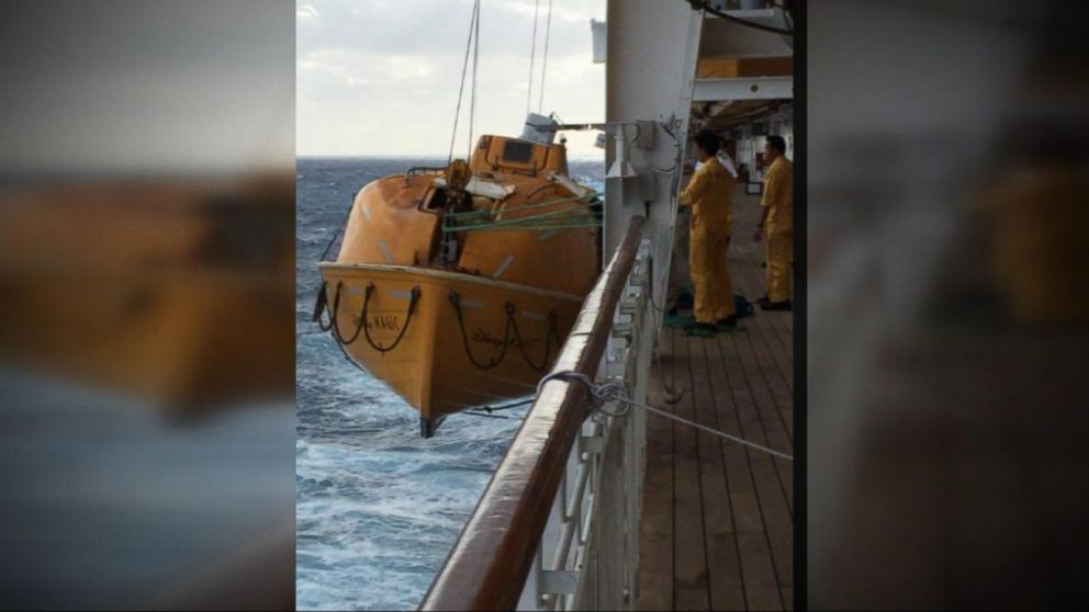 Man Overboard Rescued By Passing Disney Cruise Video ABC News - Lady overboard on cruise ship