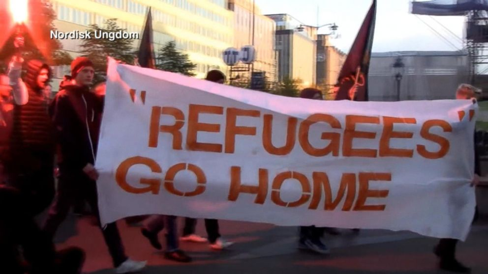 Anti-Immigrant Protests Grow as Thousands of Refugees Flood Europe - ABC  News