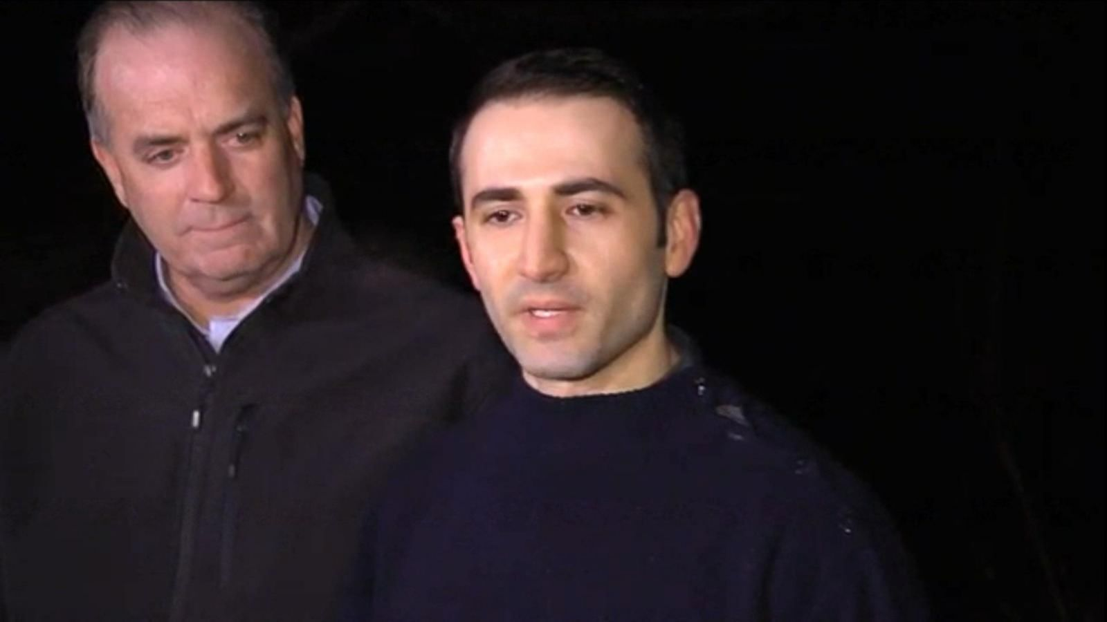 Freed Iran Prisoner Amir Hekmati Returns Home, Thanks Obama - ABC News