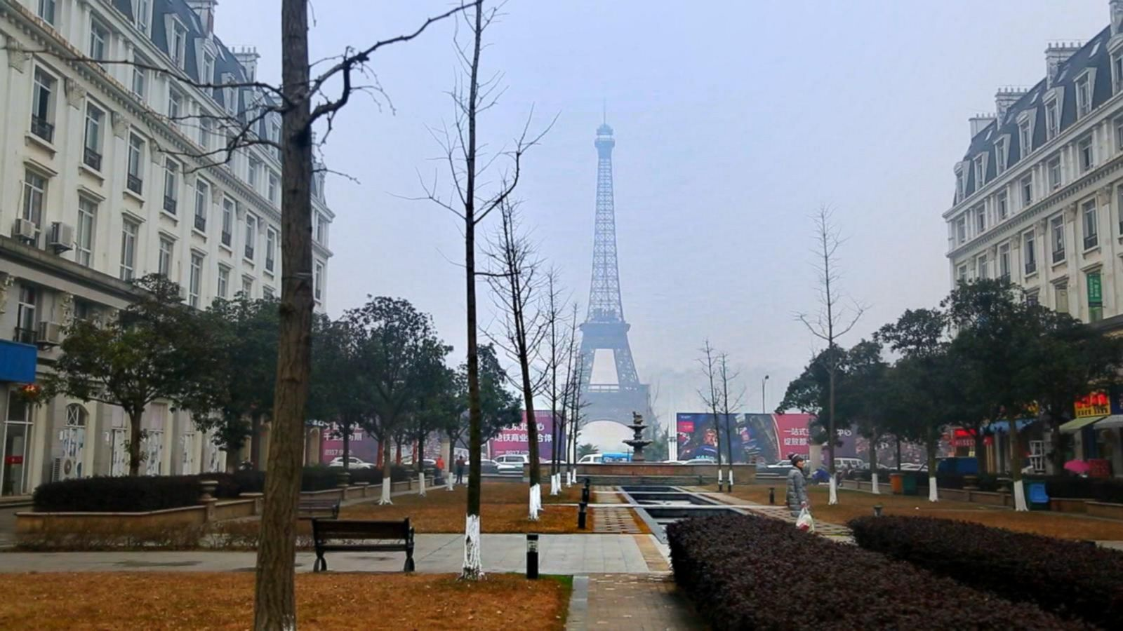 China's 'Fake' Cities Are Eerie Replicas of Paris, London and