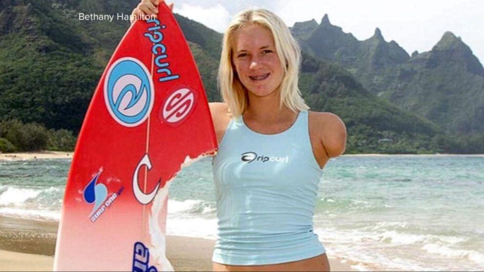 Surfing Star and Shark Attack Survivor Bethany Hamilton