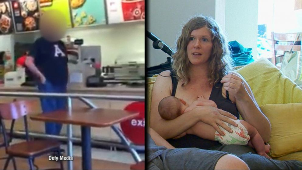 Target Employees Defend Breastfeeding Mom from Angry Male Customer
