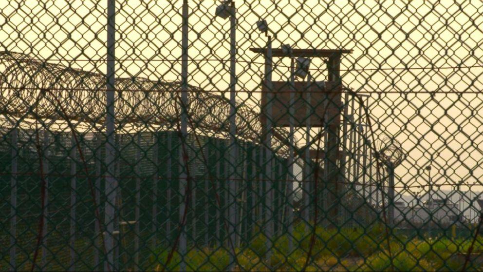 Woman in Guantanamo