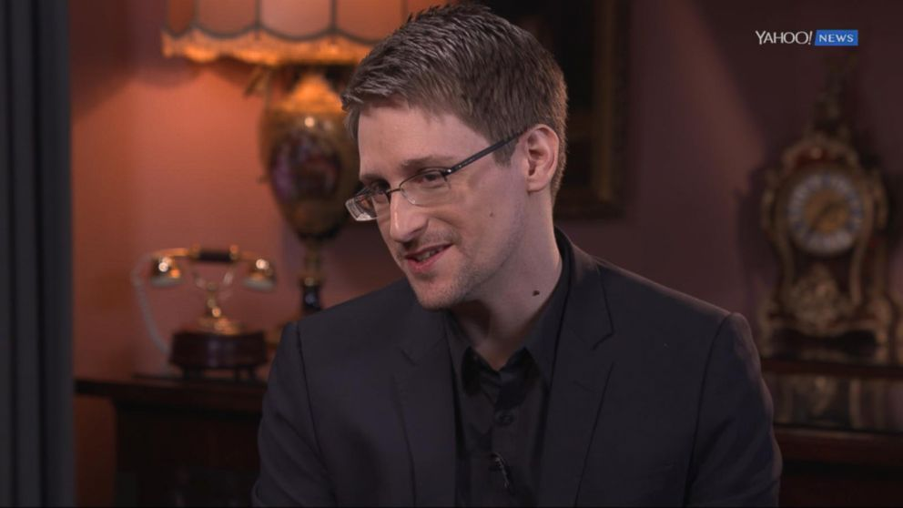 Edward Snowden on Trump, Petraeus, Having \'No Regrets\' Video - ABC News
