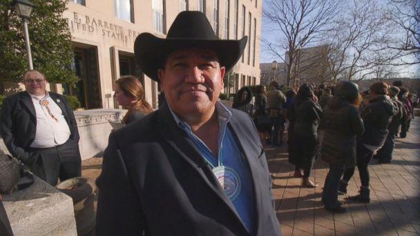 Cheyenne River Sioux Tribe Chairman's DAPL Fight in Washington