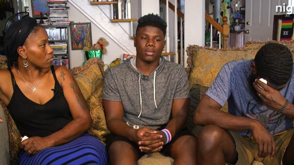 VIDEO: Teen and his mom say they fear for his life as a black man living in America