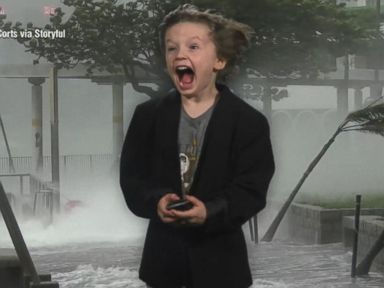 WATCH:  Kindergartener's hilarious weather forecast wins the internet