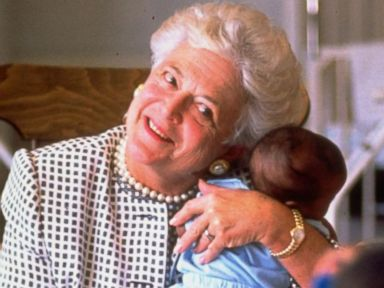 WATCH:  Remembering another side of Barbara Bush, a supporter of AIDS patients