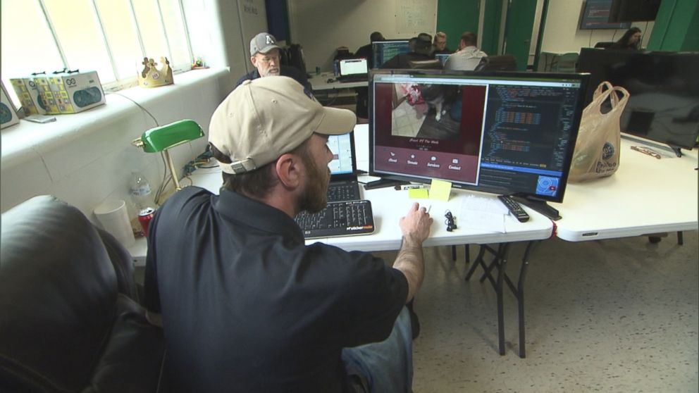 Coal Miners Being Taught HTML Coding As A Second Career