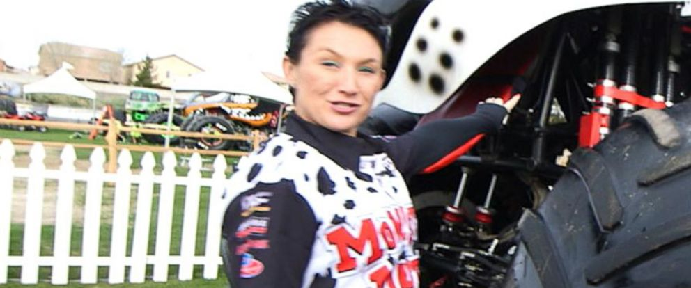 Female Monster Truck Drivers Including A Former Pageant Queen Barrel Over The Competition At Monster Jam Abc News