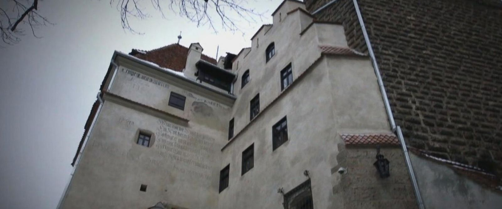 VIDEO: Inside the real-life Dracula's castle in Romania