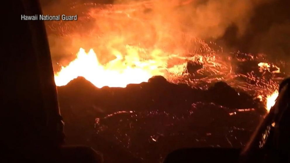 Lava bomb injures 23 on tour boat in Hawaii
