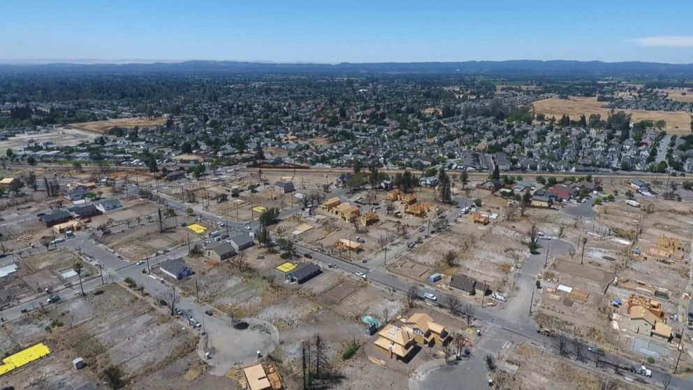 VIDEO: What Santa Rosa, Calif., looks like today after devastating Oct. 2017 fires