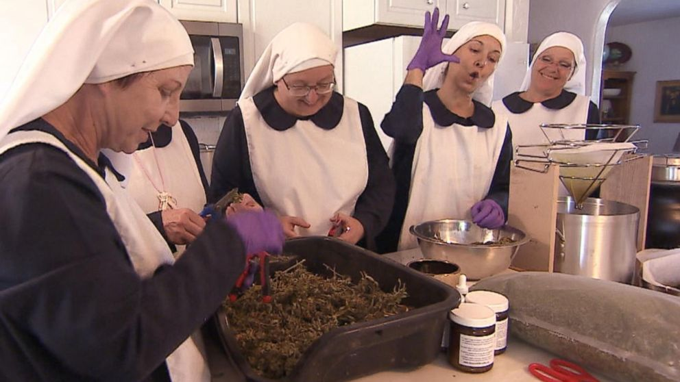 VIDEO: Meet the weed nuns who put faith in the healing powers, and profits, of cannabis