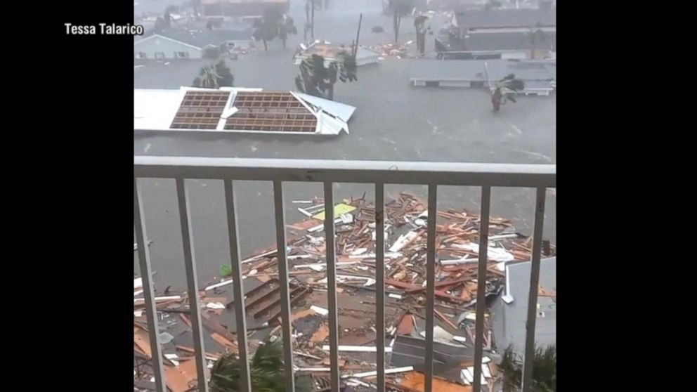 VIDEO: Hurricane Michael, strongest storm to hit US in 50 years, makes landfall in Florida