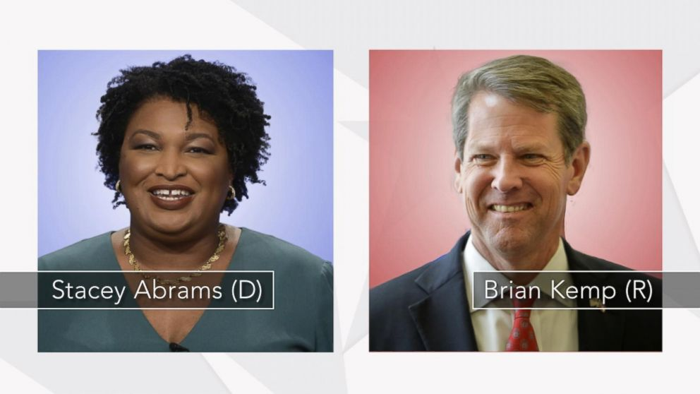 VIDEO: Brian Kemp, Stacey Abrams make final push in tight Georgia governors race