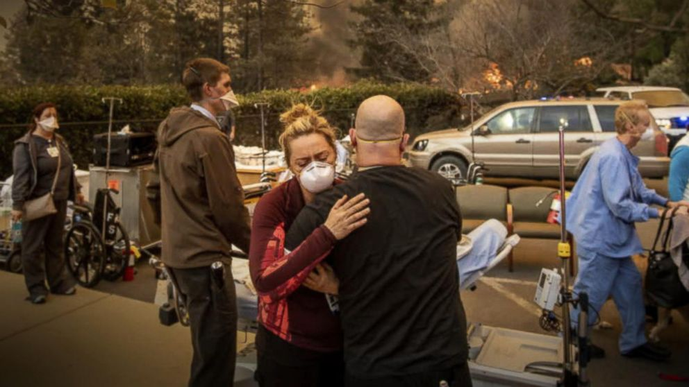 VIDEO: At least 5 dead, cities evacuated as wildfire engulfs Northern California