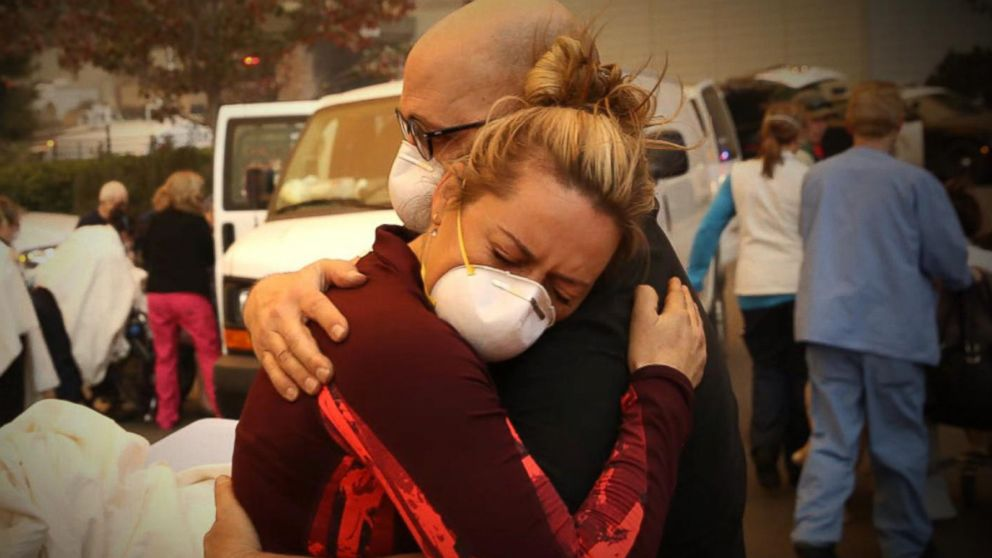 VIDEO: Scenes from California as unprecedented destruction from fires continue
