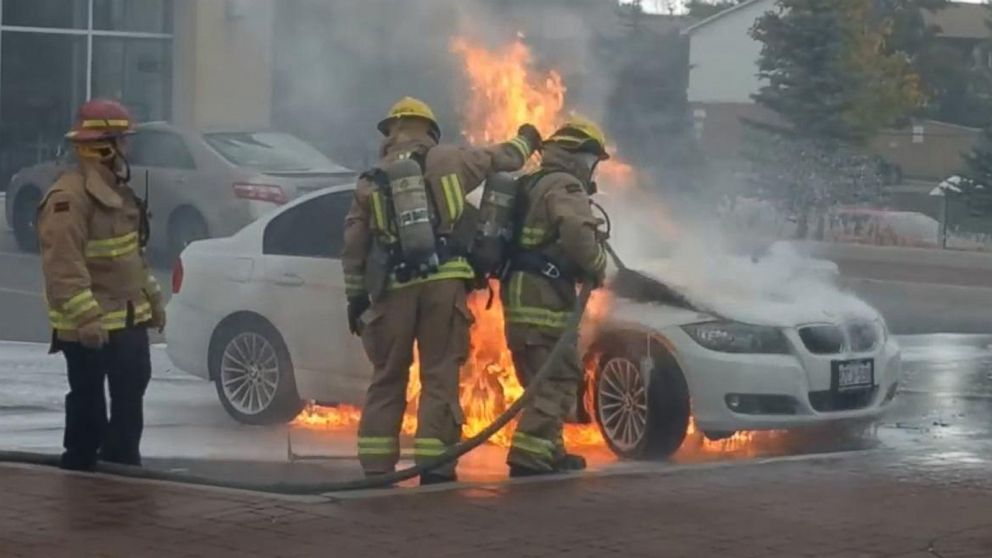 As Mysterious Bmw Fires Continue Calls For Investigation Into Possible Causes Grow Abc News