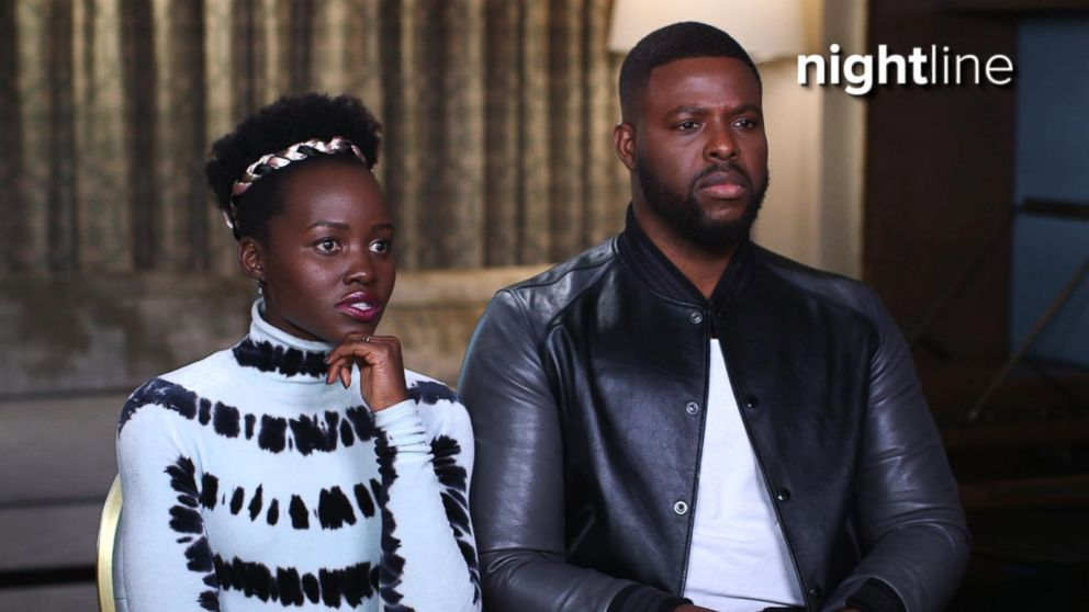 VIDEO: Lupita Nyongo, Winston Duke on We are Americans line in Us