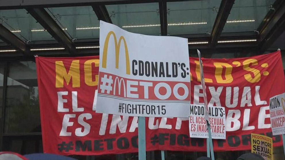 McDonald's hit with complaints and lawsuits for gender-based discrimination