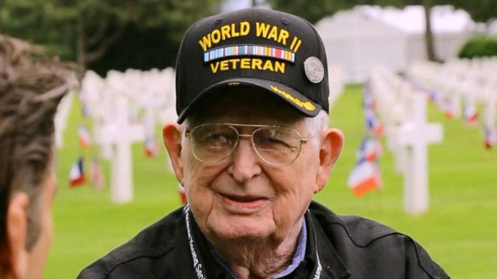04723a959b World War II veterans return to Normandy for 75th D-Day anniversary ...