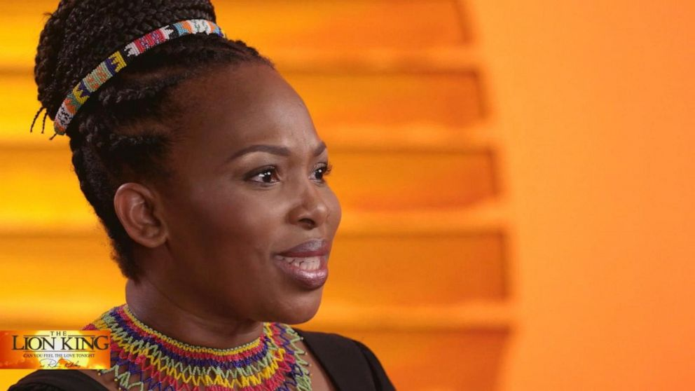 Original The Lion King Actress Opens Up About Hit Musical Today 22 Years After Debut Video Abc News