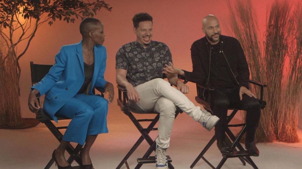 'The Lion King's' hyenas discuss perfecting their characters' cackle