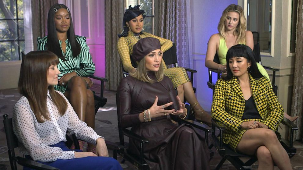 'Hustlers' stars Jennifer Lopez, Cardi B, Constance Wu discuss relating to their role
